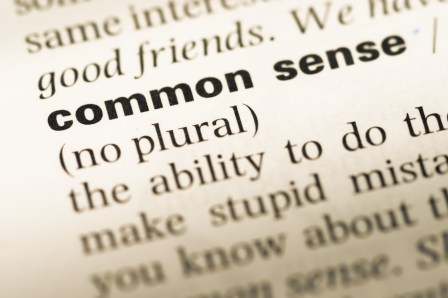 Why is Common Sense so Uncommon?